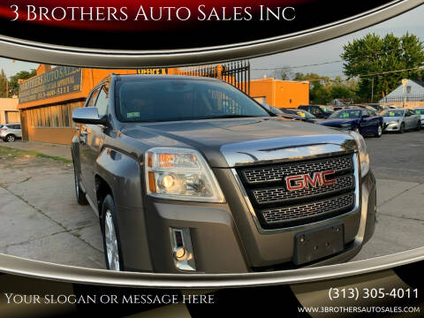 2011 GMC Terrain for sale at 3 Brothers Auto Sales Inc in Detroit MI