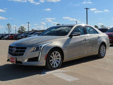 2014 Cadillac CTS for sale at Ron Carter  Clear Lake Used Cars in Houston TX