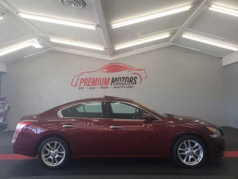 2010 Nissan Maxima for sale at Premium Motors in Villa Park IL