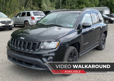 2016 Jeep Compass for sale at Eastclusive Motors LLC in Hasbrouck Heights NJ