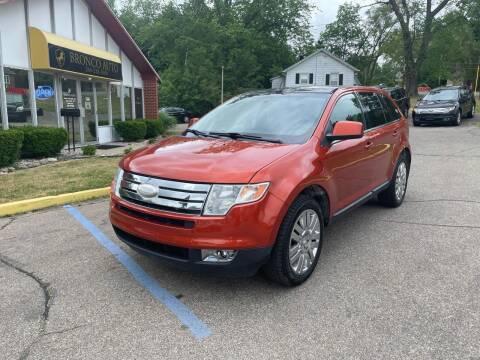 2008 Ford Edge for sale at Bronco Auto in Kalamazoo MI