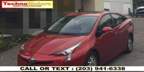 2017 Toyota Prius for sale at Techno Motors in Danbury CT