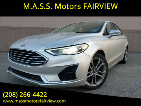 2019 Ford Fusion for sale at M.A.S.S. Motors - Fairview in Boise ID