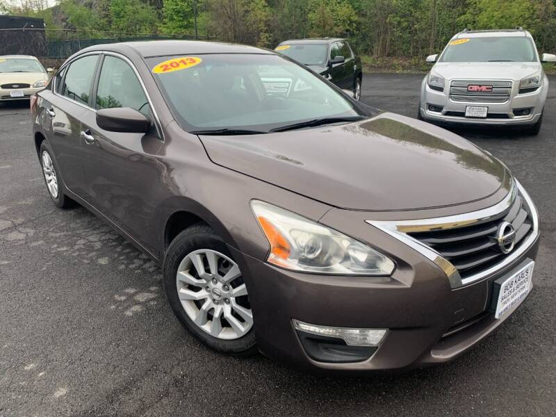 2013 Nissan Altima for sale at Bob Karl's Sales & Service in Troy NY