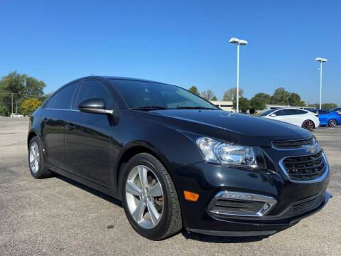 2015 Chevrolet Cruze for sale at Heritage Automotive Sales in Columbus in Columbus IN