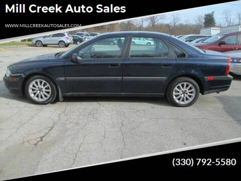 2001 Volvo S80 for sale at Mill Creek Auto Sales in Youngstown OH
