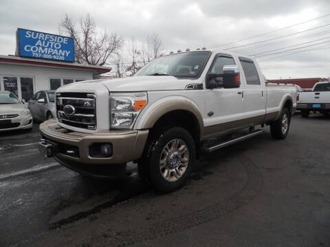 2011 Ford F-350 Super Duty for sale at Surfside Auto Company in Norfolk VA