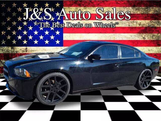 2014 Dodge Charger for sale at J & S Auto Sales in Clarksville TN