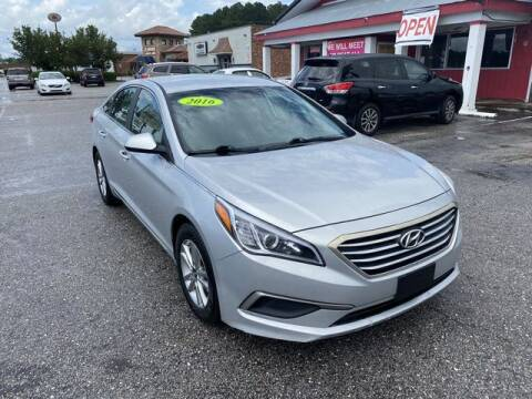 2017 Hyundai Sonata for sale at Sell Your Car Today in Fayetteville NC