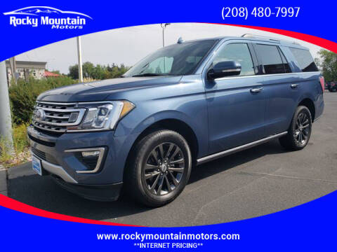 2019 Ford Expedition for sale at Rocky Mountain Motors in Idaho Falls ID