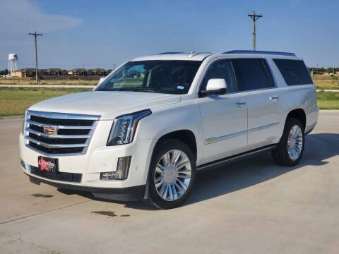 2017 Cadillac Escalade ESV for sale at Chihuahua Auto Sales in Perryton TX