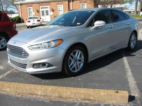 2014 Ford Fusion for sale at HL McGeorge Auto Sales Inc in Tappahannock VA