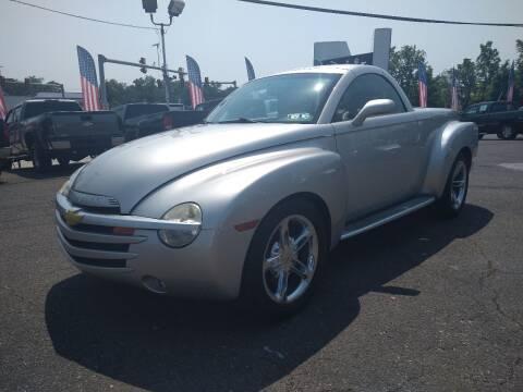 2004 Chevrolet SSR for sale at P J McCafferty Inc in Langhorne PA