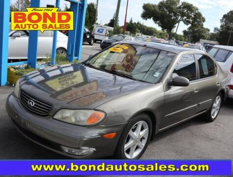 2003 Infiniti I35 for sale at Bond Auto Sales in St Petersburg FL