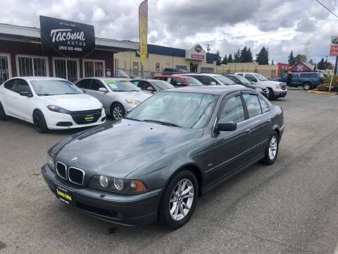 2003 BMW 5 Series for sale at Tacoma Autos LLC in Tacoma WA