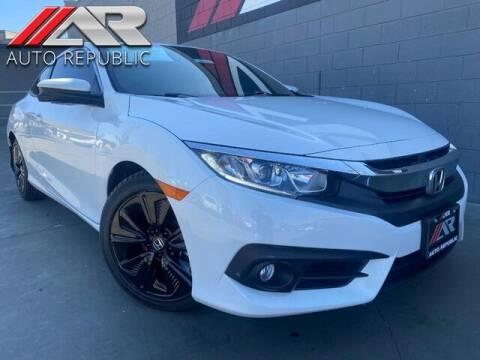 2016 Honda Civic for sale at Auto Republic Fullerton in Fullerton CA