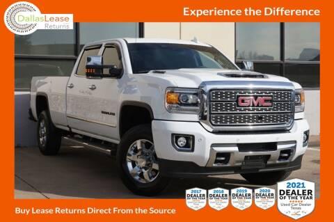 2018 GMC Sierra 3500HD for sale at Dallas Auto Finance in Dallas TX