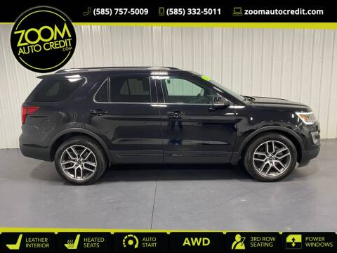 2016 Ford Explorer for sale at ZoomAutoCredit.com in Elba NY