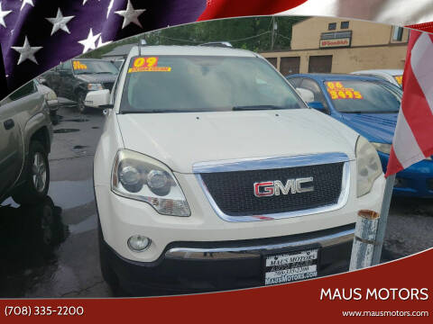 2009 GMC Acadia for sale at MAUS MOTORS in Hazel Crest IL