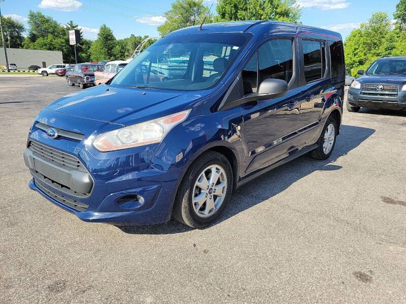 2014 Ford Transit Connect Wagon for sale at Cruisin' Auto Sales in Madison IN