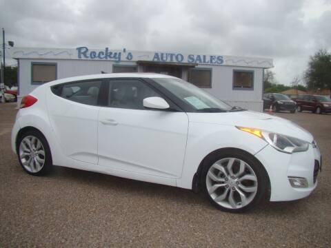 2012 Hyundai Veloster for sale at Rocky's Auto Sales in Corpus Christi TX