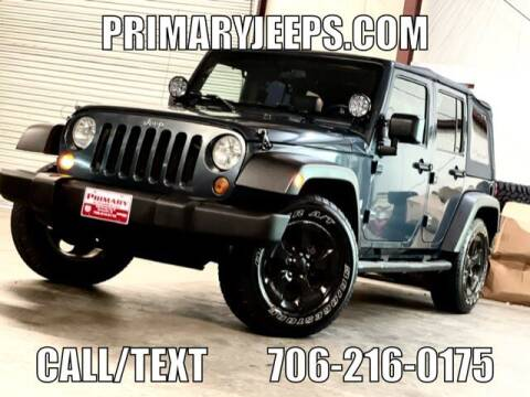 2007 Jeep Wrangler Unlimited for sale at Primary Auto Group in Dawsonville GA