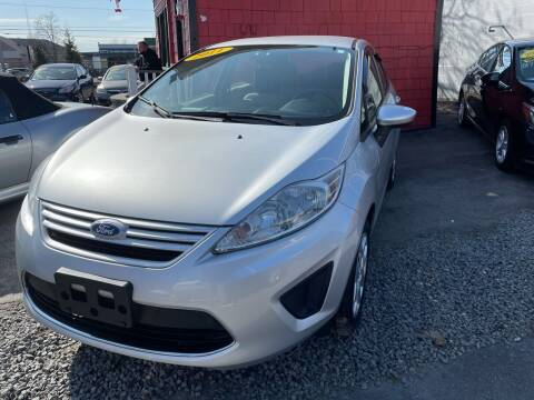 2011 Ford Fiesta for sale at Mass Auto Exchange in Framingham MA