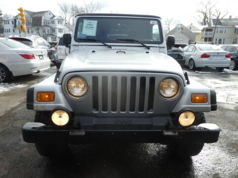 2004 Jeep Wrangler for sale at Wheels and Deals in Springfield MA