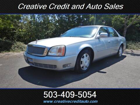 2000 Cadillac DeVille for sale at Creative Credit & Auto Sales in Salem OR