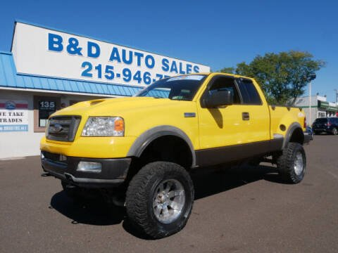 2004 Ford F-150 for sale at B & D Auto Sales Inc. in Fairless Hills PA