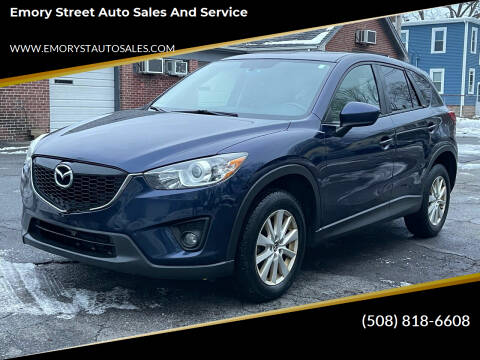 2014 Mazda CX-5 for sale at Emory Street Auto Sales and Service in Attleboro MA