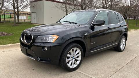 2013 BMW X3 for sale at Western Star Auto Sales in Chicago IL