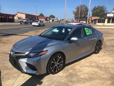 2019 Toyota Camry for sale at BRAMLETT MOTORS in Hope AR