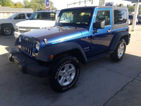 2010 Jeep Wrangler for sale at SpringField Select Autos in Springfield IL
