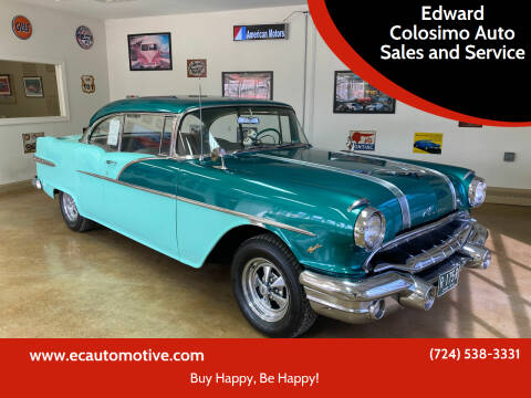 1956 Pontiac Chieftain for sale at Edward Colosimo Auto Sales and Service in Evans City PA