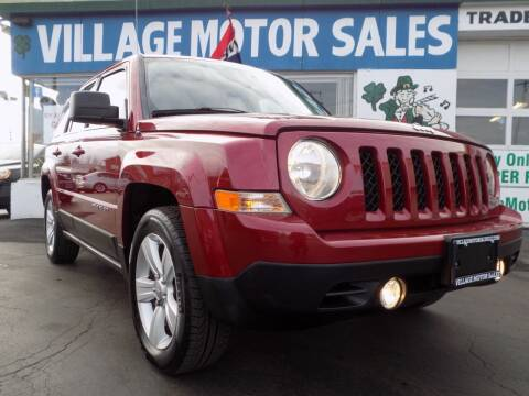 2012 Jeep Patriot for sale at Village Motor Sales in Buffalo NY