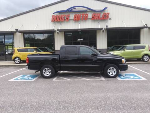 2006 Dodge Dakota for sale at DOUG'S AUTO SALES INC in Pleasant View TN