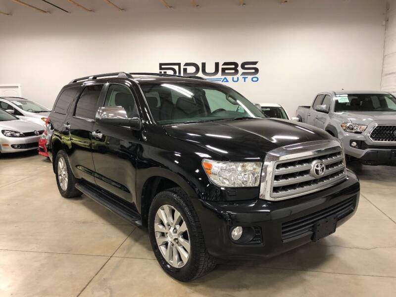 2011 Toyota Sequoia for sale at DUBS AUTO LLC in Clearfield UT