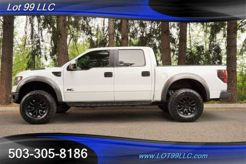 2013 Ford F-150 for sale at LOT 99 LLC in Milwaukie OR