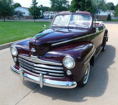 1948 Ford Super Deluxe for sale at WEST PORT AUTO CENTER INC in Fenton MO