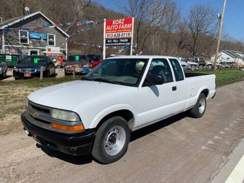 2003 Chevrolet S-10 for sale at Korz Auto Farm in Kansas City KS