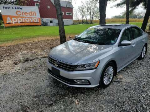 2016 Volkswagen Passat for sale at Caulfields Family Auto Sales in Bath PA