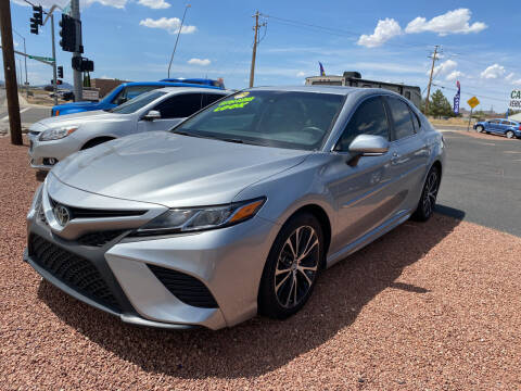 2018 Toyota Camry for sale at SPEND-LESS AUTO in Kingman AZ