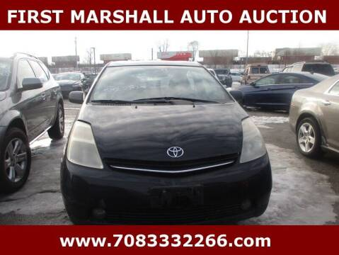2009 Toyota Prius for sale at First Marshall Auto Auction in Harvey IL