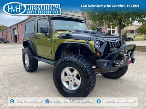 2010 Jeep Wrangler for sale at International Motor Productions in Carrollton TX