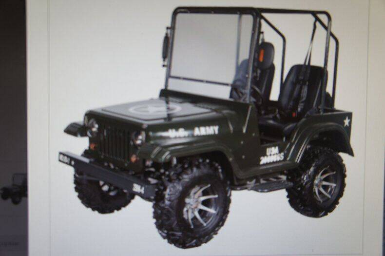 2019 Ice Bear Maxi-Mini Willys Jeep for sale at Dream Machines USA in Lantana FL