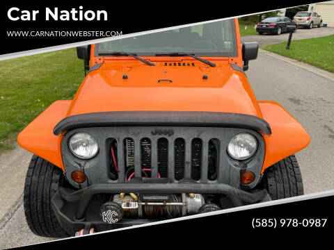 2012 Jeep Wrangler for sale at Car Nation in Webster NY