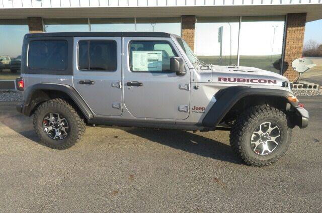 2021 Jeep Wrangler Unlimited for sale at DAKOTA CHRYSLER CENTER in Wahpeton ND