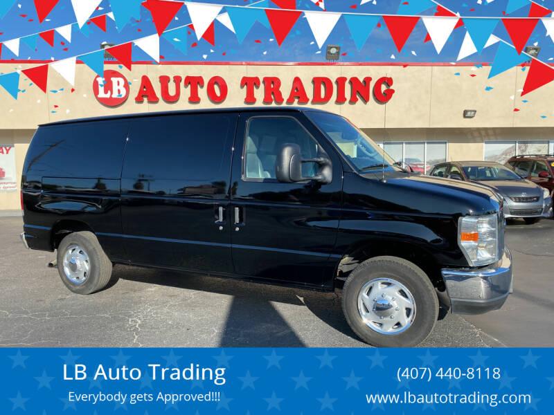 2013 Ford E-Series Cargo for sale at LB Auto Trading in Orlando FL
