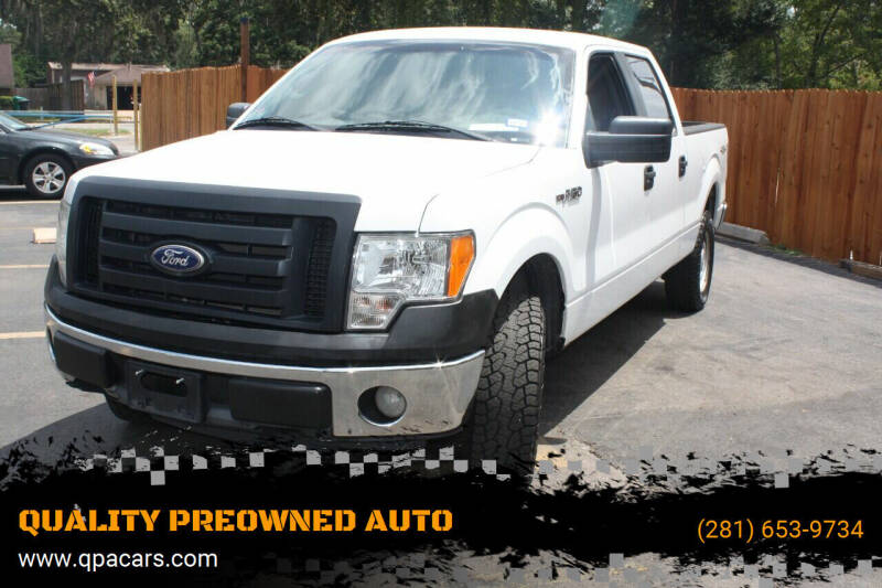 2010 Ford F-150 for sale at QUALITY PREOWNED AUTO in Houston TX